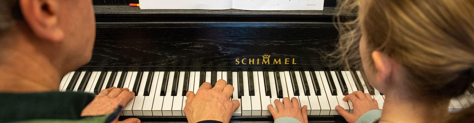 Pianoles via muziekschool Musicas
