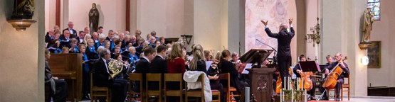 Passiemuziek in H.Hart kerk Vught