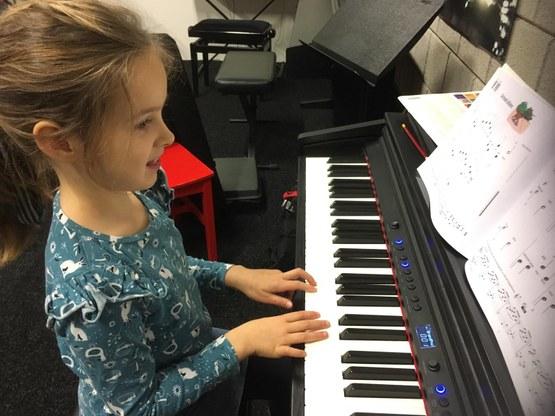 Emoties tijdens pianoles in Den Bosch