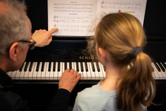 Privé pianoles in Den Bosch